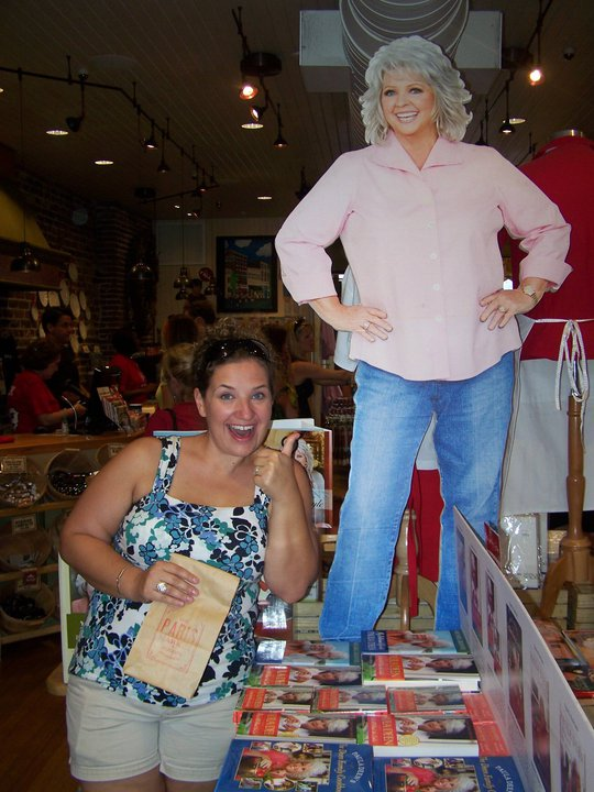 Me and Paula hanging out in her gift shop in historic Savannah, Georgia.