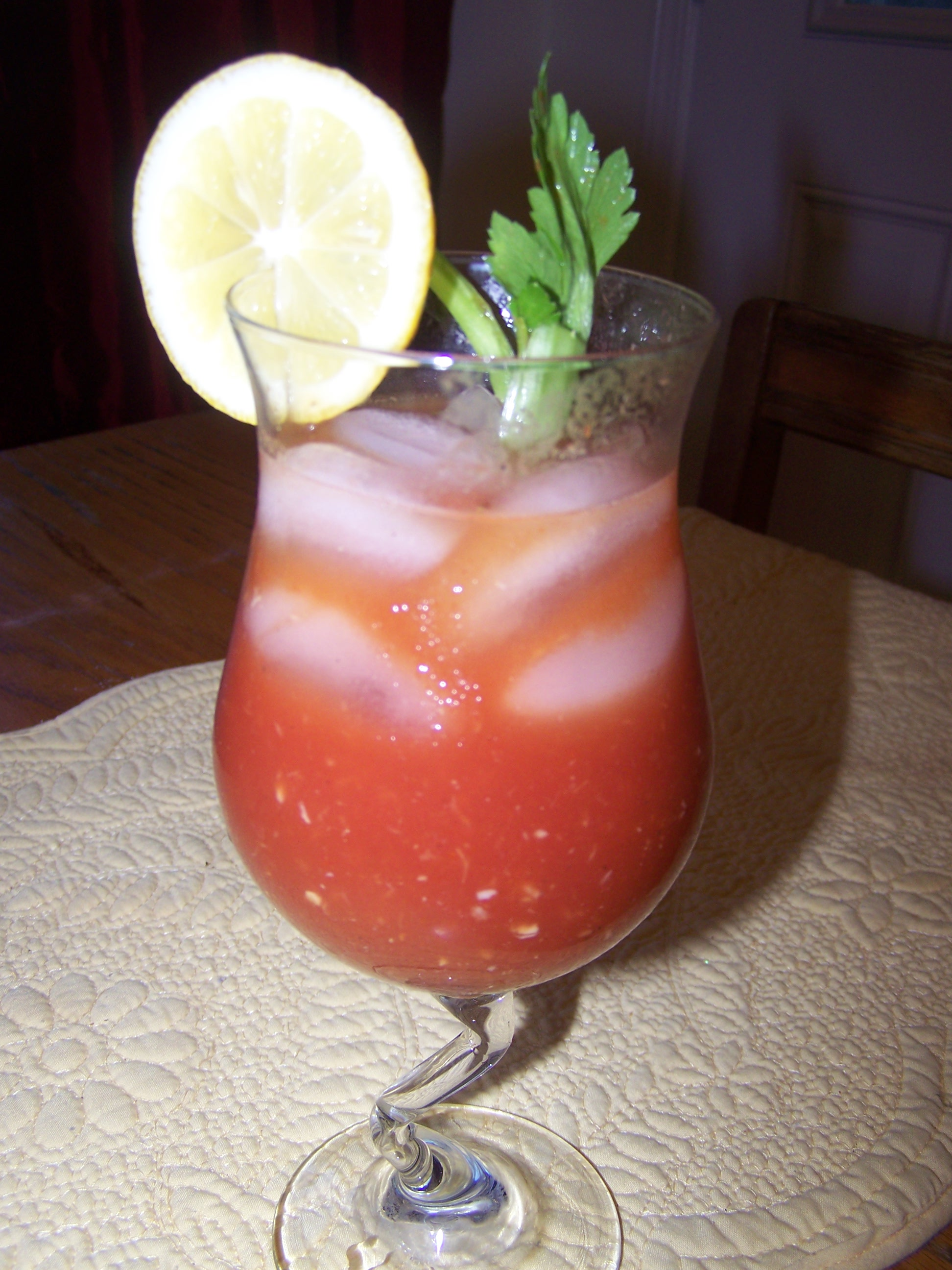 A Twist on the Classic Bloody Mary