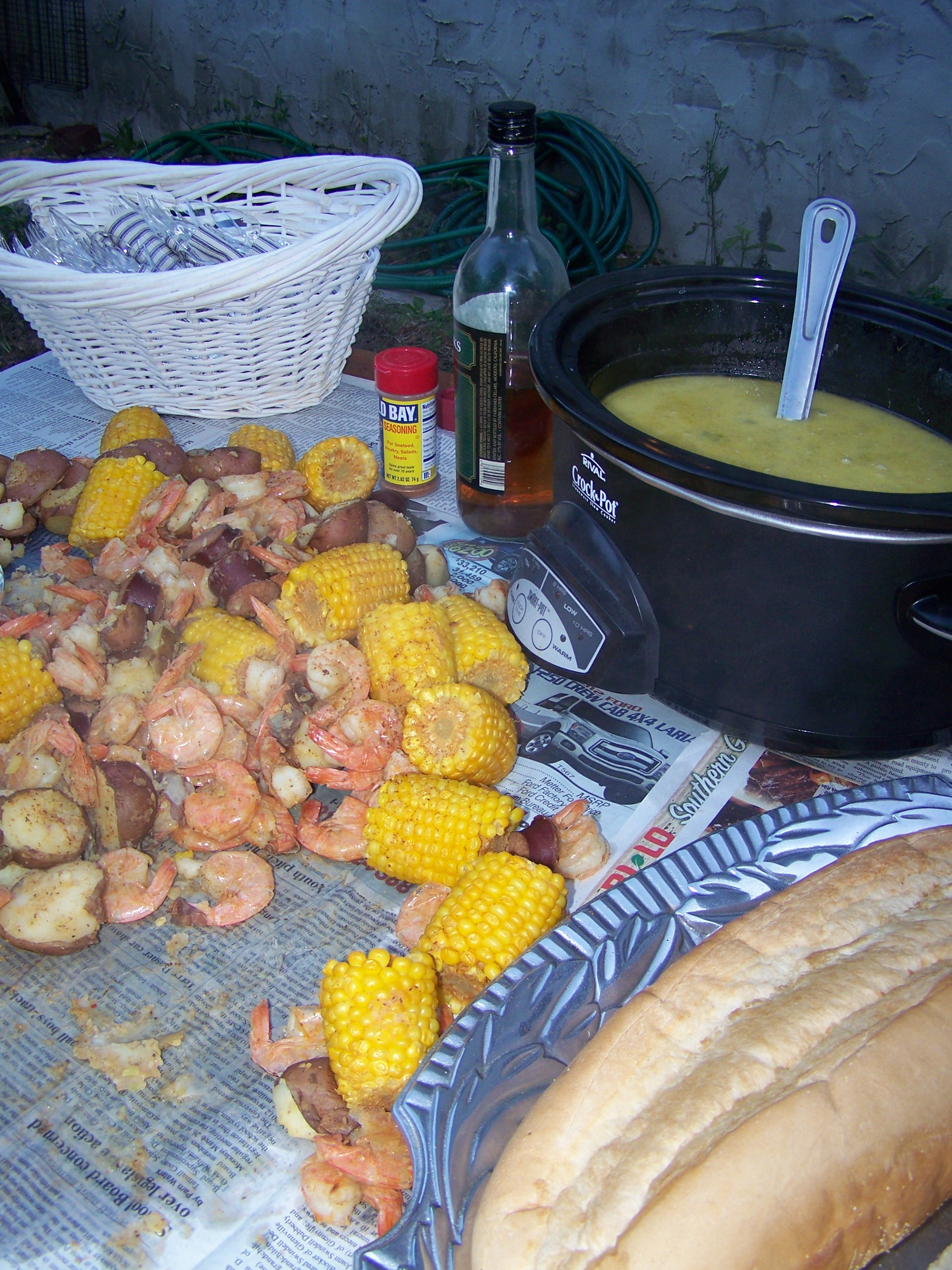 lowcountry boil party ideas