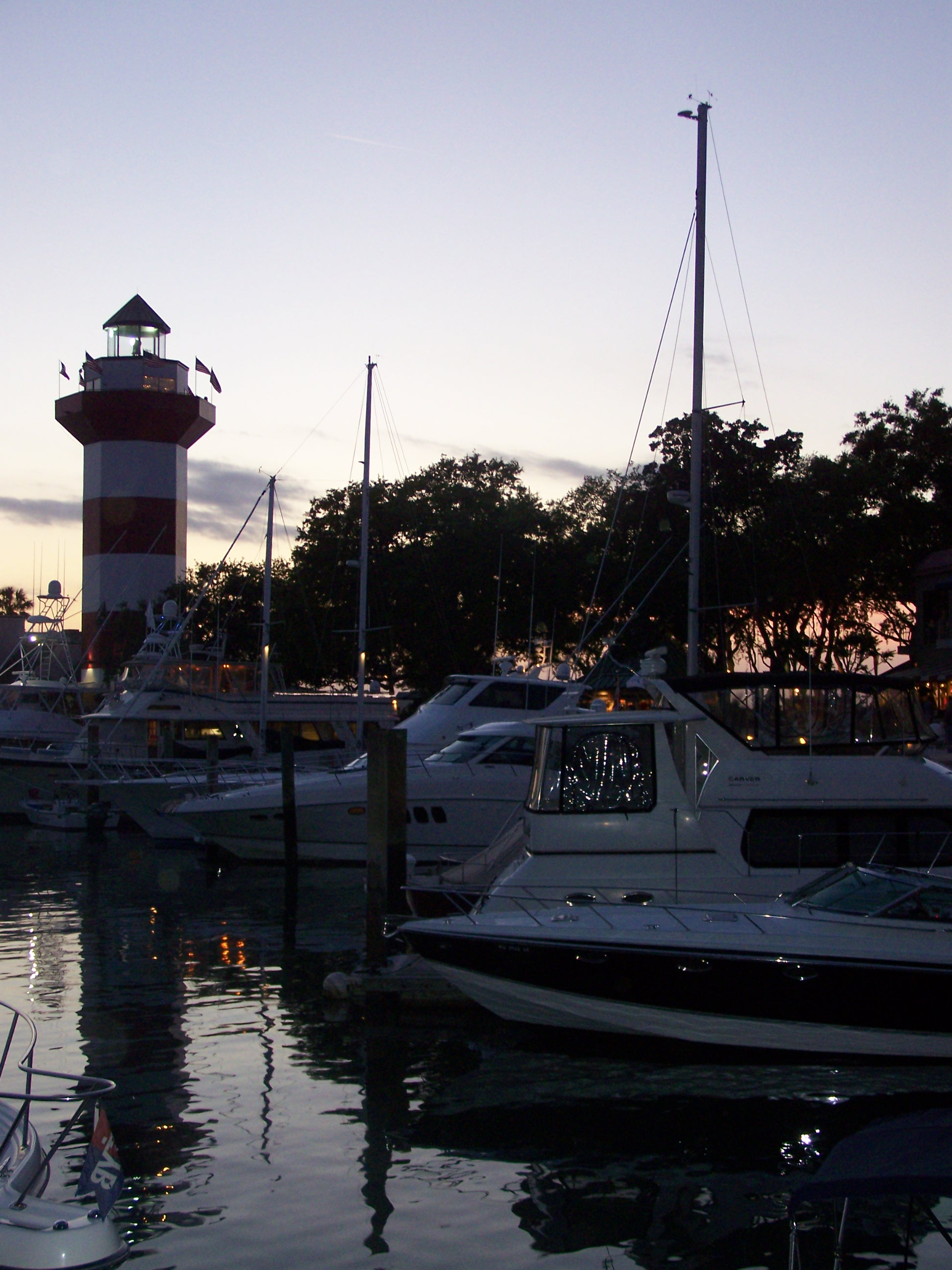 Harbour Town at Dusk