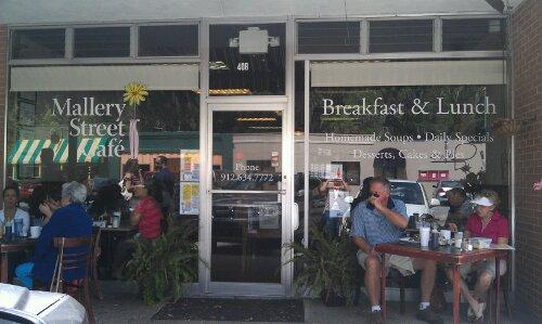 Mallery Street Cafe Menu