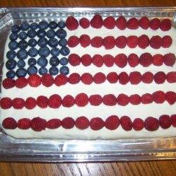 AmericanFlagCake