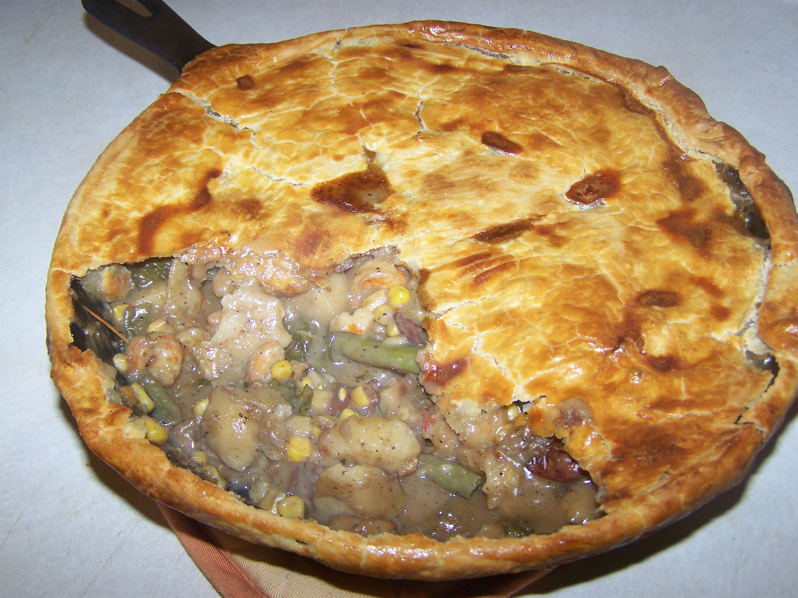 Pot Pie Low Country Boil Style