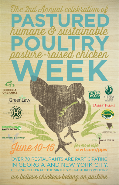 pastured poultry poster 2013 ga