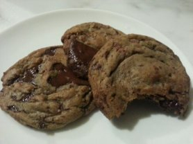 "South & Vine Public House's World Famous Chocolate ""Chip"" Cookies: Dead sexy. Desire on a plate, that is all."