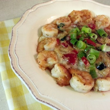 Wild Georgia Shrimp & Grits