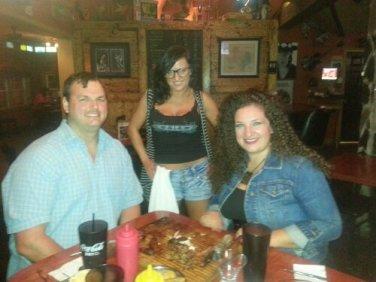 From left: Kurt, Katelynne and me.