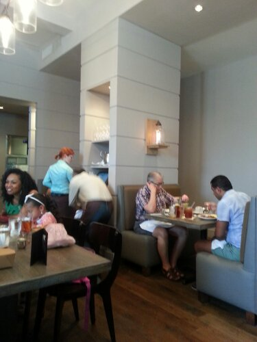 Watershed on Peachtree on a Sunday morning.