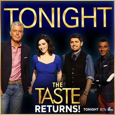 Watch Me Audition TONIGHT on ABC's The Taste