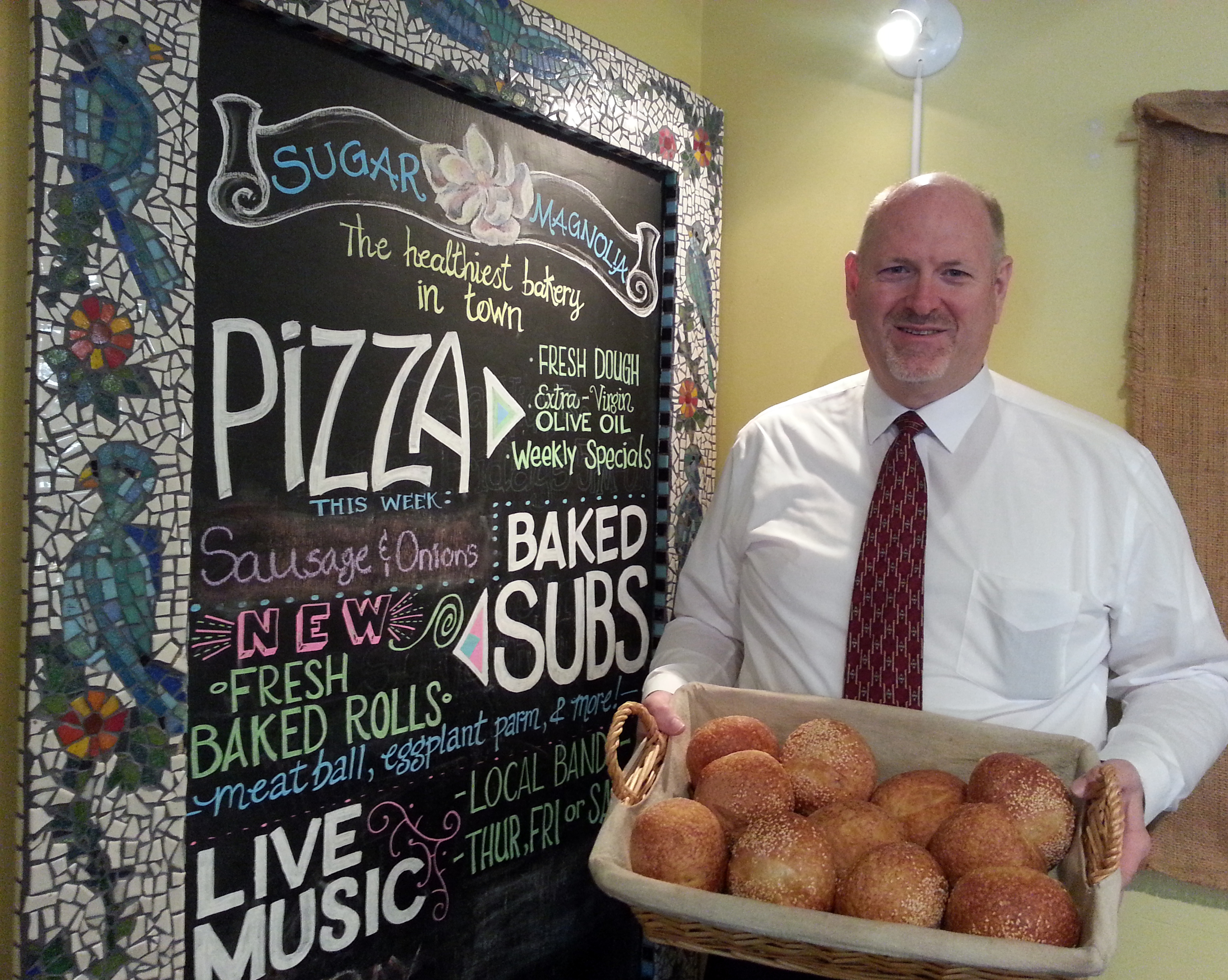 Local Spotlight: Barry Turner of Sugar Magnolia Bakery & Cafe