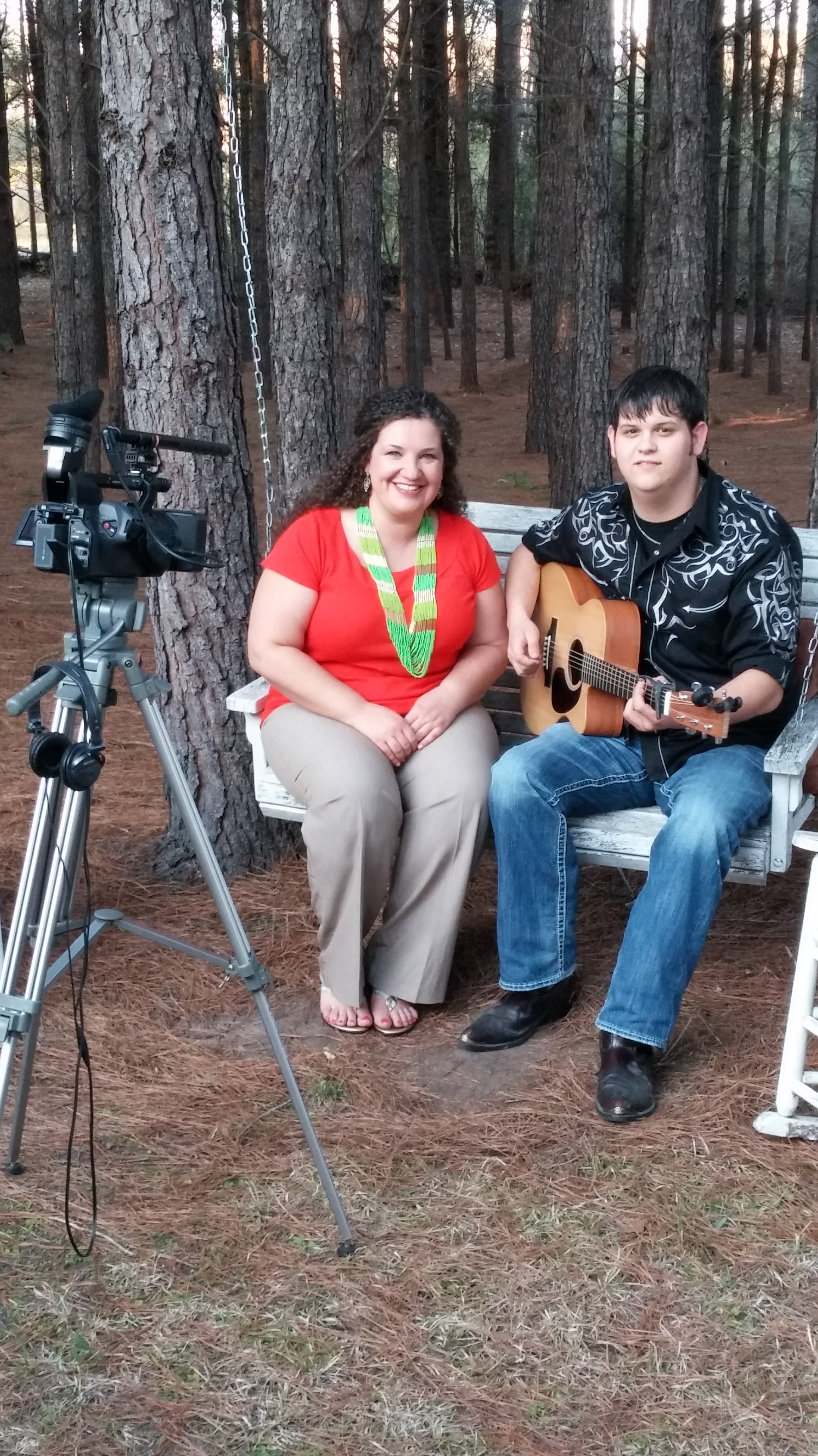 Justin Dukes (right) and I met in the line during American Idol auditions during the summer of 2011 in Charleston, SC.