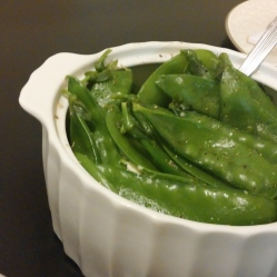 Blanched Snap Peas