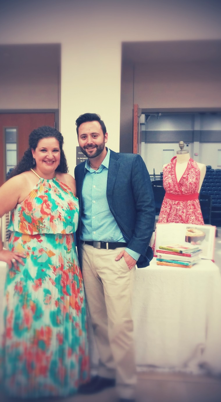 "Hosted by myself and Chad (left) of The Stylish Steed, ""Nibble & Nosh and Everything Posh!"" was held on Thursday, May 15  at the Gadsden State Cherokee Arena."