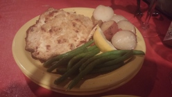 The Special: Carolina Mountain Trout with Green Beans and New Potatoes