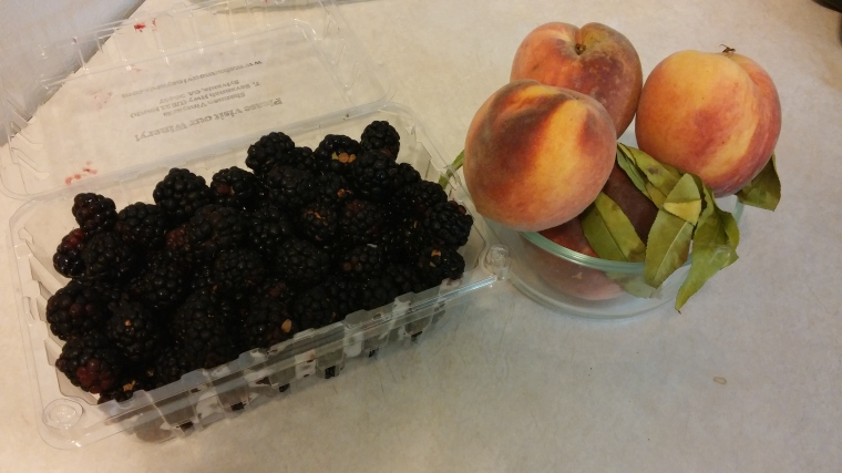 Fruit from the fields of Screven County.