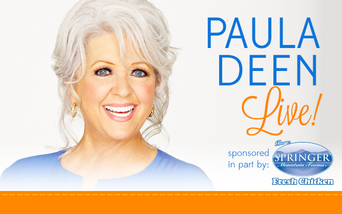 Some Kinda Good Teams Up with Paula Deen LIVE!