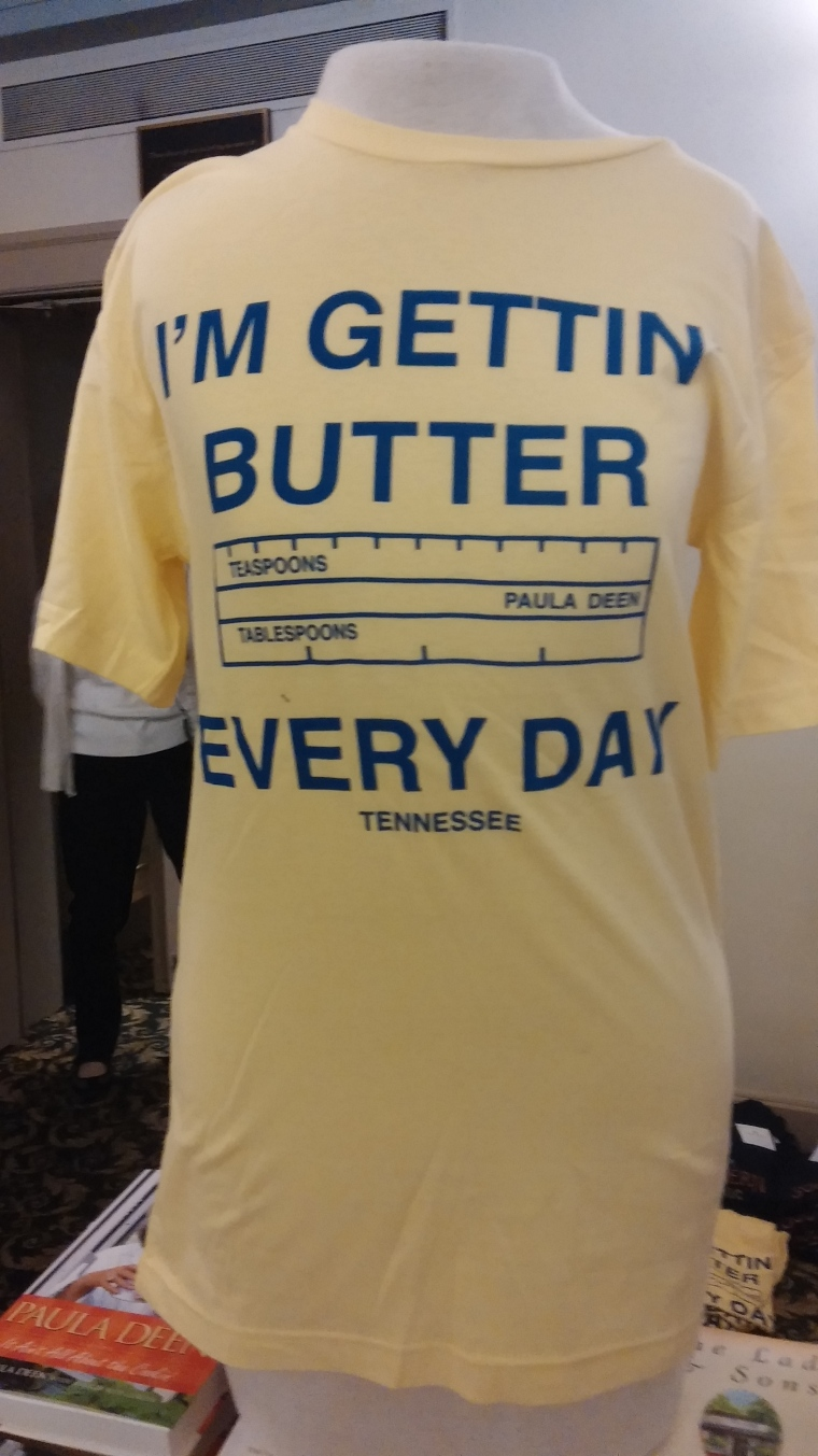 This T-Shirt was for sale in the lobby of the Lucas Theatre.