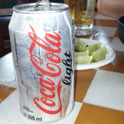 Coca Cola Light! Reminded me of other European travels.