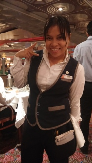 Divina, our fun-loving, attentive server!