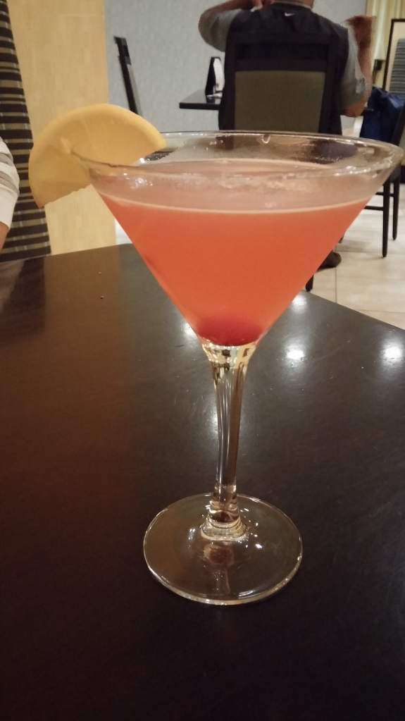 The Pink Lemonade Signature Cocktail