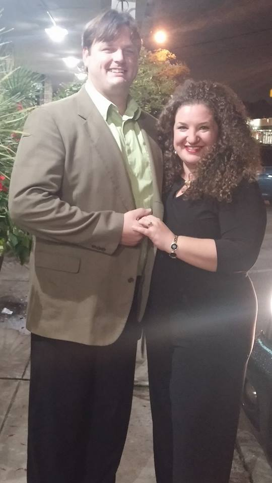My boyfriend Kurt graduated to fiance after proposing to me on Dec. 20.