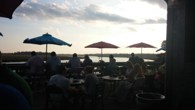 Who wouldn't want to watch the sun go down with a cold corona and friends here?