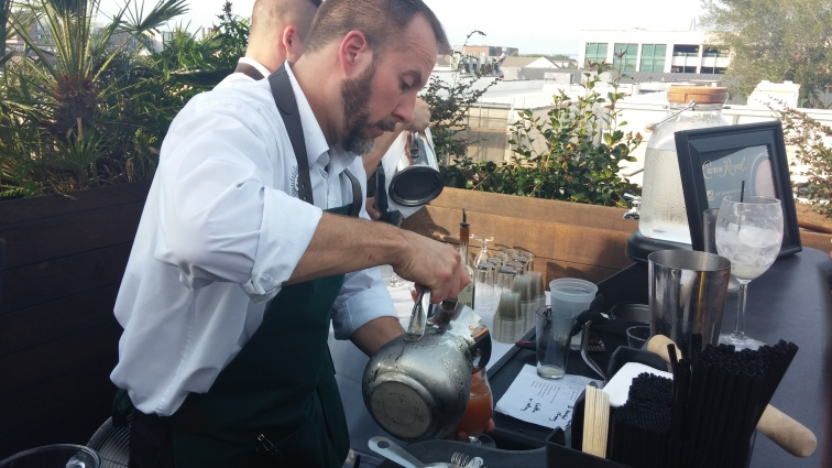 Bud Huber has been bartending at Stars Rooftop and Grill Room since Oct. 2012.