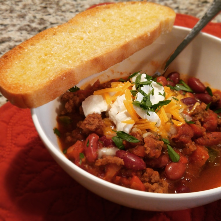 Get the recipe for my Beer Can Chili right here on the blog!
