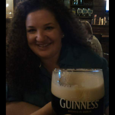 "My handsome posted this pic of me to Facebook the night we visited the Pub, with the caption, ""Life is good."""