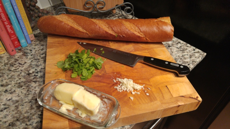 Garlic herb butter adds delicious flavor to breads, sandwiches and steak.