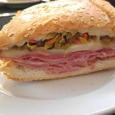 Muffuletta from Government Street Grocery, Ocean Springs, Mississippi