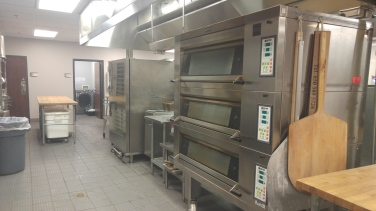Large ovens for baking breads, pizza and more.