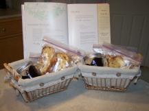 Warm bread + homemade jam is a win-win!