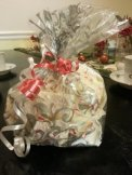 White Chocolate Peppermint Bark makes a delicious and easy Christmas gift.