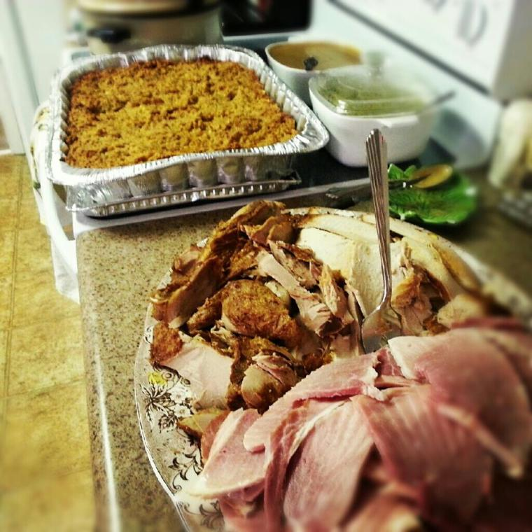 Turkey and Ham