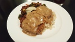 Country Fried Venison with Onion Gravy
