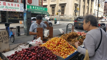 Fruit Stands in Chinatown