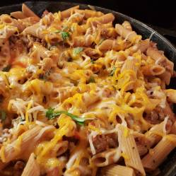 Ground Beef Pasta Bake